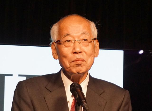 画像: IIJ代表取締役会長CEOの鈴木幸一氏