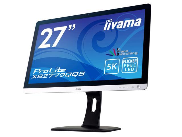 画像: 27型5K(5,120×2,880)対応 液晶ディスプレイ「iiyama ProLite XB2779QQS」
