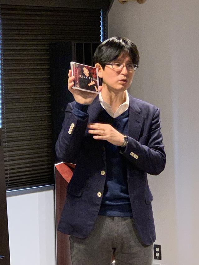 画像: 今回の特別体験会で、音のファインチューニング、イベントの進行と解説を行なったステレオサウンド編集長 染谷一。今週末の3月23日〜24日は、富山国際会議場で開催される「第4回 北陸オーディオショウ」に参加する予定。北陸のみなさま、よろしくお願いします! www.stereosound-store.jp
