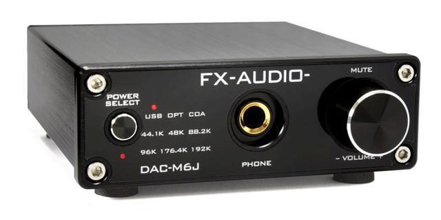 画像: FX-AUDIO-のデジタルプリアンプ「DAC-M6J」
