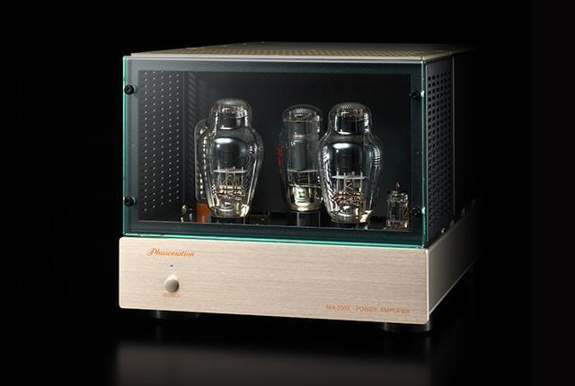"""画像: """"300Bで最高峰の音""""を目指したフェーズメーションの真空管モノーラルパワーアンプ「MA-2000」 - Stereo Sound ONLINE"""