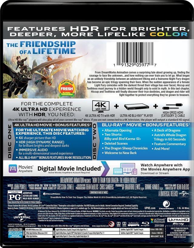 画像2: ドリームワークスのメガヒットCGアニメ第3弾『ヒックとドラゴン3』【海外盤Blu-ray発売情報】