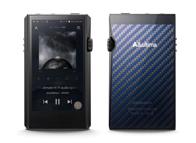 画像: ▲「A&ultima SP1000M」の限定カラーモデル「A&ultima SP1000M Onyx Black」。日本での販売は限定100台となる