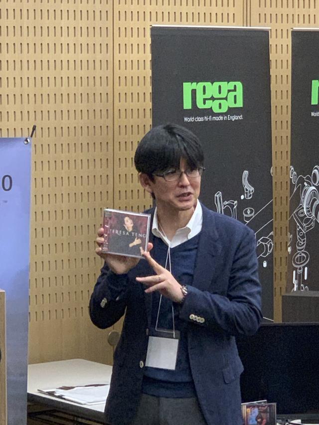 画像: こちらは3月30日に発売となるテレサ・テンのSACDもお聴きいただき、たいへんな好評を得た