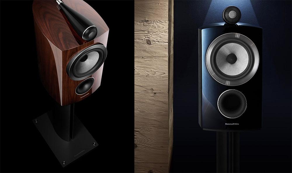 画像: 「805D3 Prestige Edition」(左)と「805D3 Gross Black」(右)の比較試聴も予定されている
