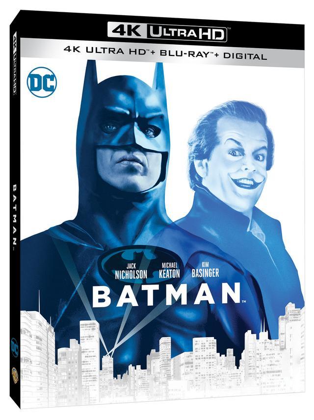 画像1: 旧シリーズ4作が4K×アトモスで登場 『バットマン』『バットマン リターンズ』『バットマン フォーエヴァー』『バットマン&ロビン/Mr.フリーズの逆襲』【海外盤Blu-ray発売情報】