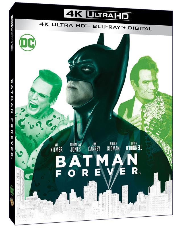 画像2: 旧シリーズ4作が4K×アトモスで登場 『バットマン』『バットマン リターンズ』『バットマン フォーエヴァー』『バットマン&ロビン/Mr.フリーズの逆襲』【海外盤Blu-ray発売情報】