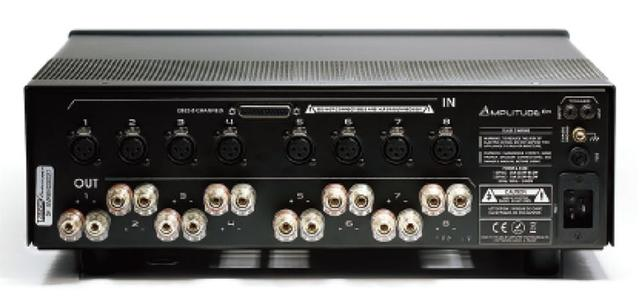 画像2: あのトリノフに、マルチチャンネルパワーアンプ「Amplitude 8M」が登場! 200W×8chの出力を備え、ホームシアターユースに最適だ。定価140万円で、4月15日から受注開始