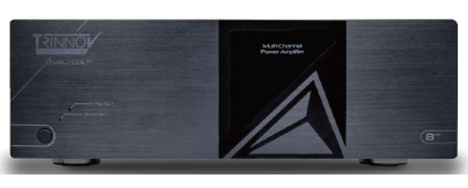 画像1: あのトリノフに、マルチチャンネルパワーアンプ「Amplitude 8M」が登場! 200W×8chの出力を備え、ホームシアターユースに最適だ。定価140万円で、4月15日から受注開始