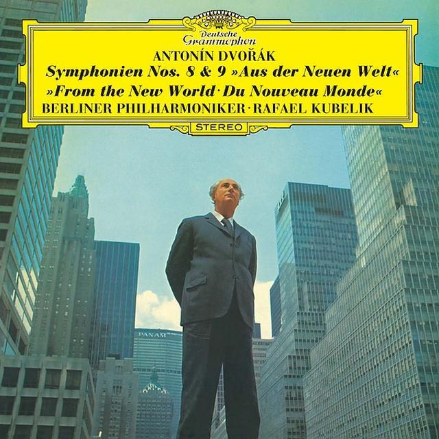画像: ドヴォルザーク: 交響曲第8番 & 第9番《新世界より》/ベルリン・フィルハーモニー管弦楽団, ラファエル・クーベリック