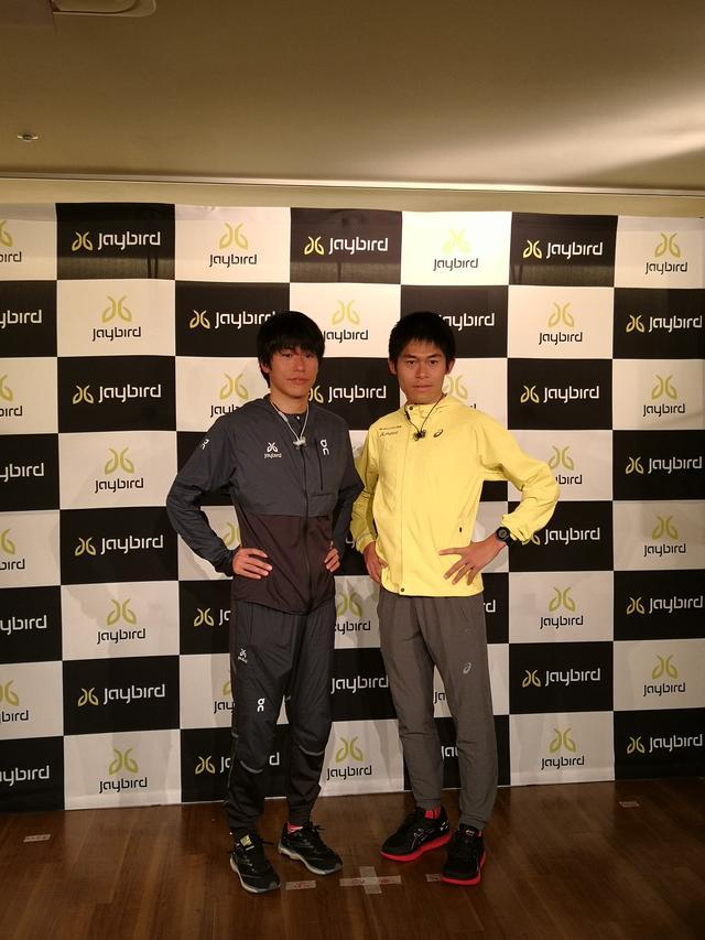画像: 二男川内鮮輝選手(左) 長男川内優輝選手(右)