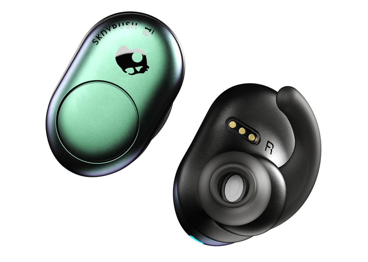 画像: Skullcandyから初の完全ワイヤレスイヤホン「Push」が3月15日に発売。パワフルな低音が楽しめる。価格は12900円! - Stereo Sound ONLINE