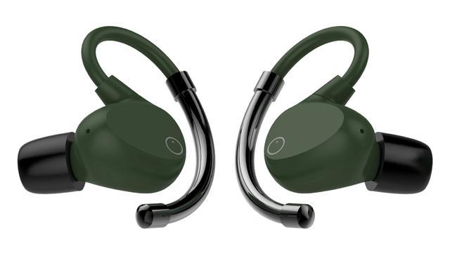 画像: EOZの完全ワイヤレスイヤホン「EOZ AIR」の新色グリーン・ブラック