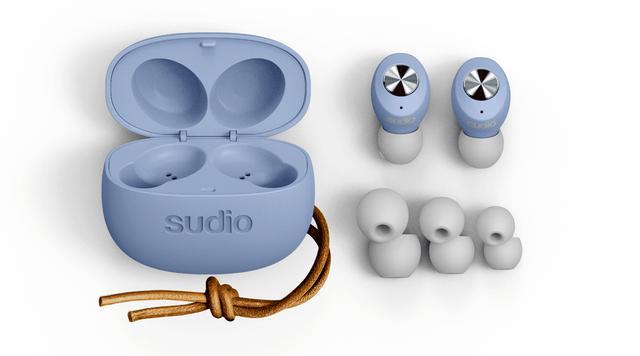 画像: sudioの完全ワイヤレスイヤホン「TOLV」 ブルー