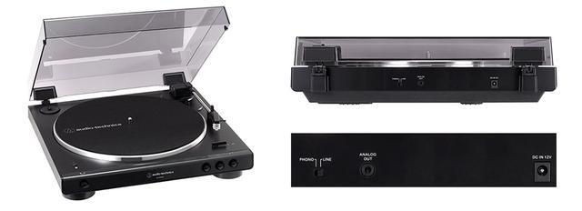 画像: Bluetoothの再生機能を備えた上位モデル「AT-LP60XBT」