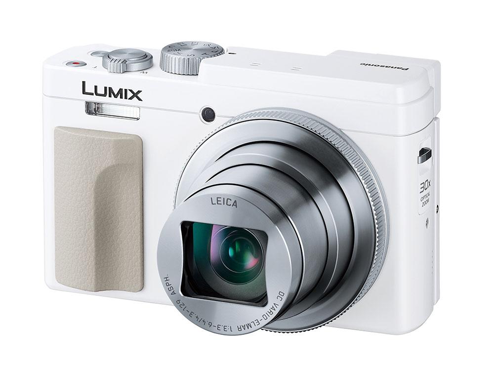 画像: コンパクトデジタルカメラ「DC-TZ95」は写真のホワイト仕上げの他にブラック仕上げもラインナップする