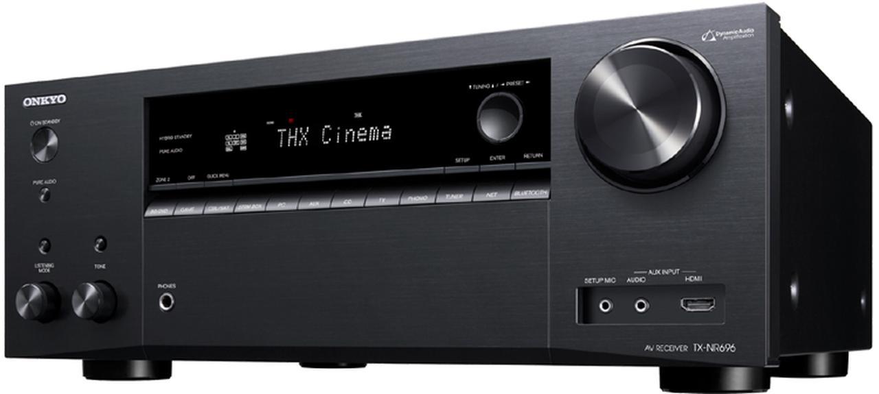 画像: オーディオ&ビジュアル製品情報:AVレシーバー> TX-NR696(B) オンキヨー株式会社