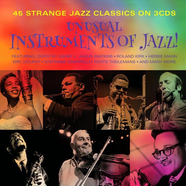 画像: タワーレコード、珍しい楽器でのジャズ名演を収録したコンピアルバム「UNUSUAL INSTRUMENTS OF JAZZ !」を4/26に発売。全45曲収録で1500円