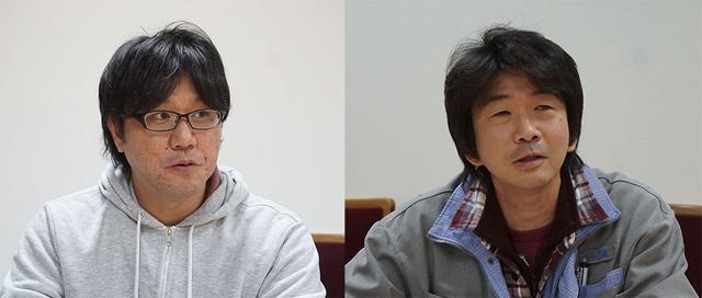 画像: 映像本部 映像部 映像制作課 デジタルイメージンググループ カラリスト 山下 純さん(左)と、営業本部 営業部 TA室 アーカイブコーディネーター 小森勇人さん(右)。ふたりとも本作の大ファンで、実際にロケ地まで足を運んだこともあるとか