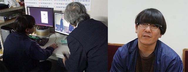 画像: 映像本部 映像部 映像制作課 アーカイブグループ レストア・チーム 宮田祐希さん。『八甲田山』は暗いシーンや吹雪のシーンも多く、ノイズと情報の見極めがたいへんだったそうだ