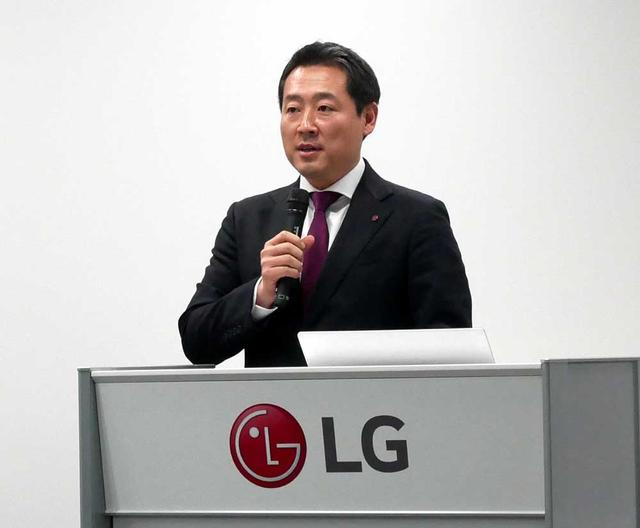 画像: LGエレクトロニクス・ジャパン マーケティングチーム 金 東建 部長