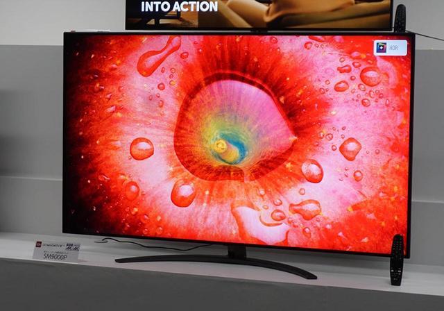 画像: 今回の液晶テレビのトップモデルとなる「SM9000P」