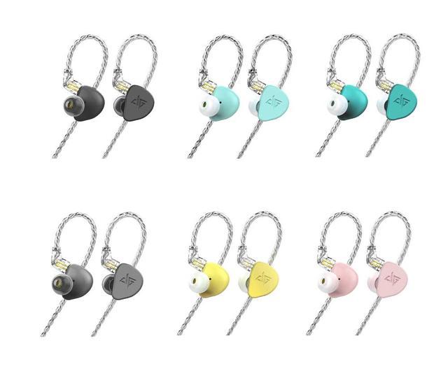 画像: カラーリング(左上ブラック、ブルー、グリーン。左下からグレー、イエロー、ピンク)