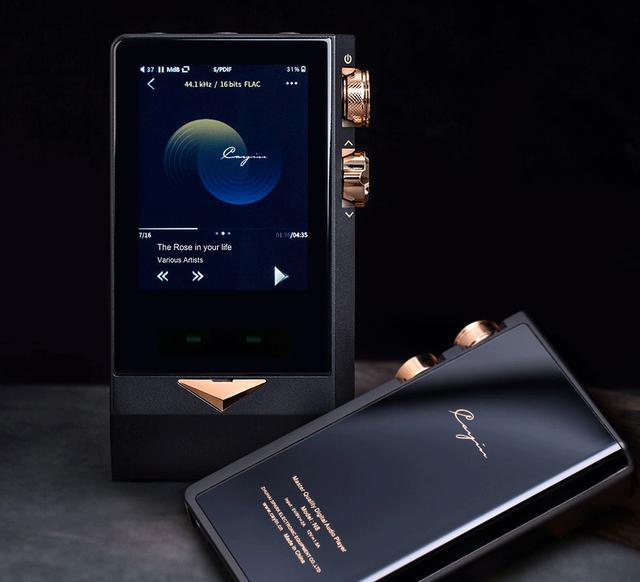 画像: CayinのハイエンドDAP「N8 Brass Black」。世界限定300台