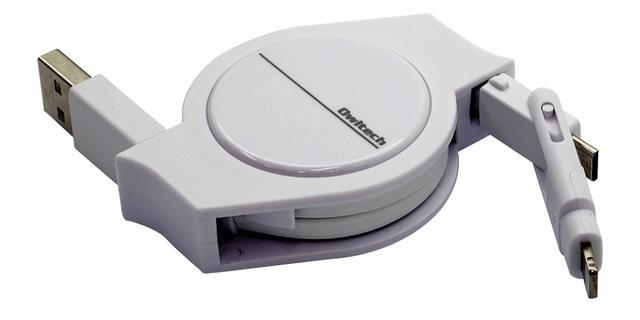 画像: 【USB Type-A⇔microUSB(microUSB⇔Lightning変換アダプター付属)】
