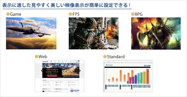 画像: LCD-GC242HXB | ゲーミングモニター「GigaCrysta」 | IODATA アイ・オー・データ機器