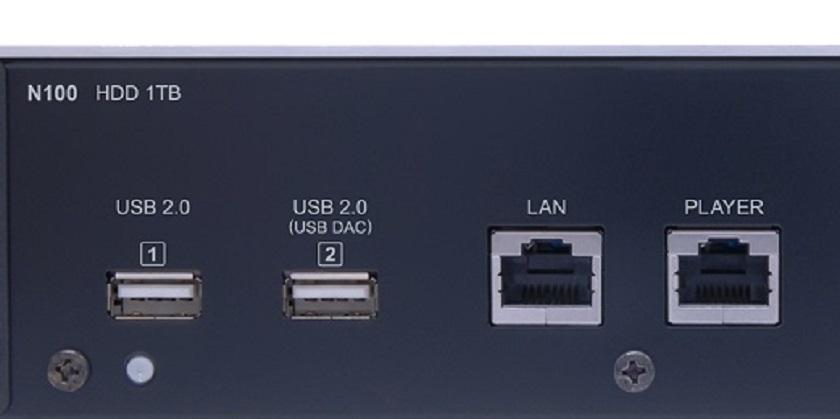 画像1: DELAミュージックサーバーのUSB端子の使い方