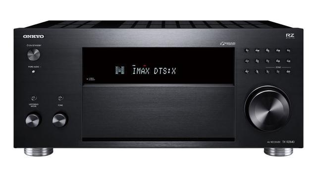 画像: オンキヨーの新AVアンプ「TX-RZ840(B)」