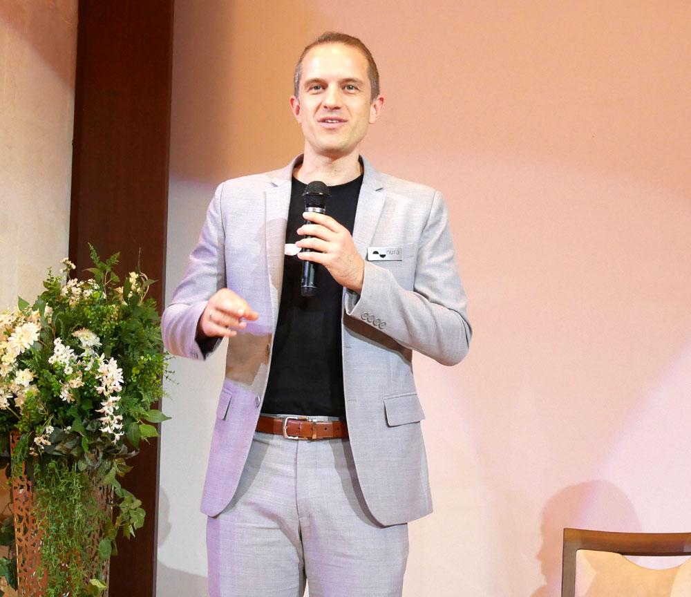 画像: nura CEOのDragon Petrovic氏