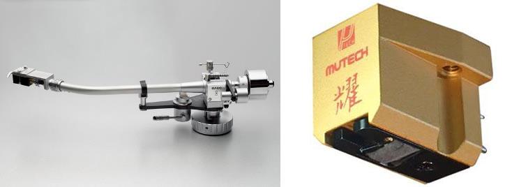 画像: トーンアームのサエクWE-4700に、ミューテックのMCカートリッジRM-KAGAYAKIを組み合わせる