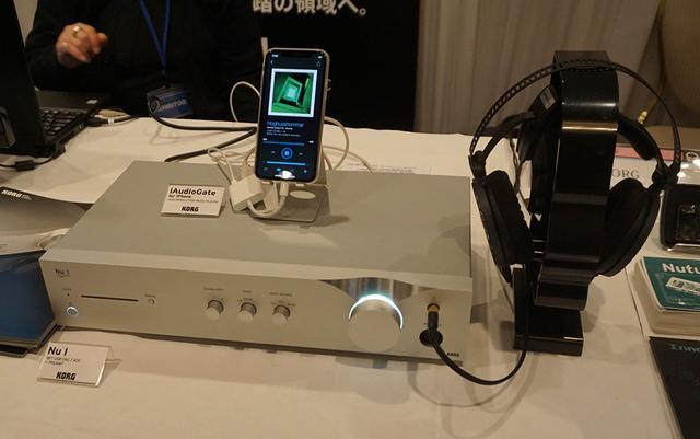 画像: PCレスでDSD再生ができるiAudioGate。既に販売を開始している