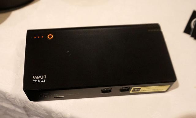 画像: 携帯用ポータブルアンプの「WA11 Topaz」