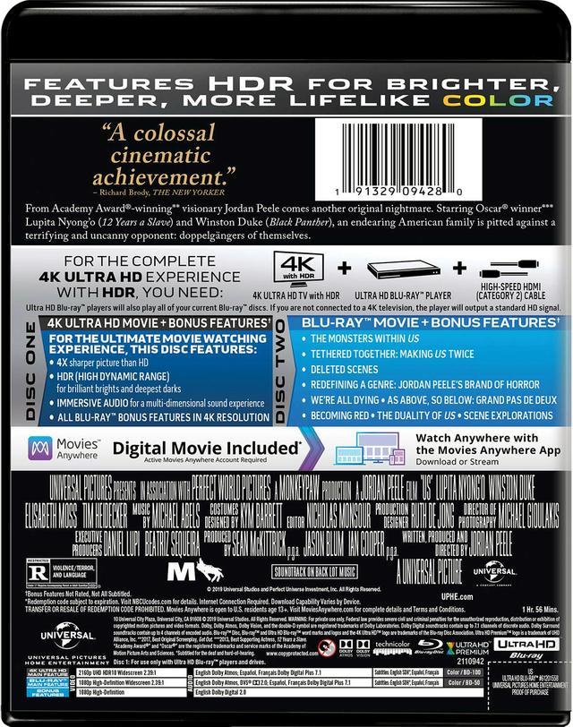 画像2: 『ゲット・アウト』監督最新メガヒット・ホラー『Us』【海外盤Blu-ray発売情報】