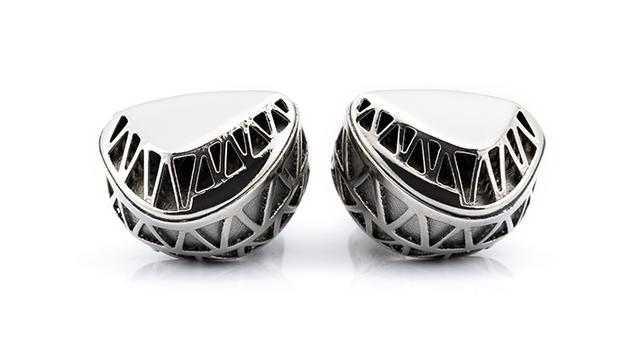 画像: MACBETH(Unique Melody)|ミックスウェーブ[Mixwave] 2 Driver Custom IEMハイブリッド型Vent Hole TuningWhite Gold-Plated Metallic Sound Tubes