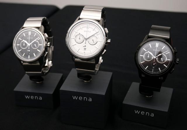画像: 「wena wrist Chronograph Classic head」シリーズ(リストバンドは別売り)