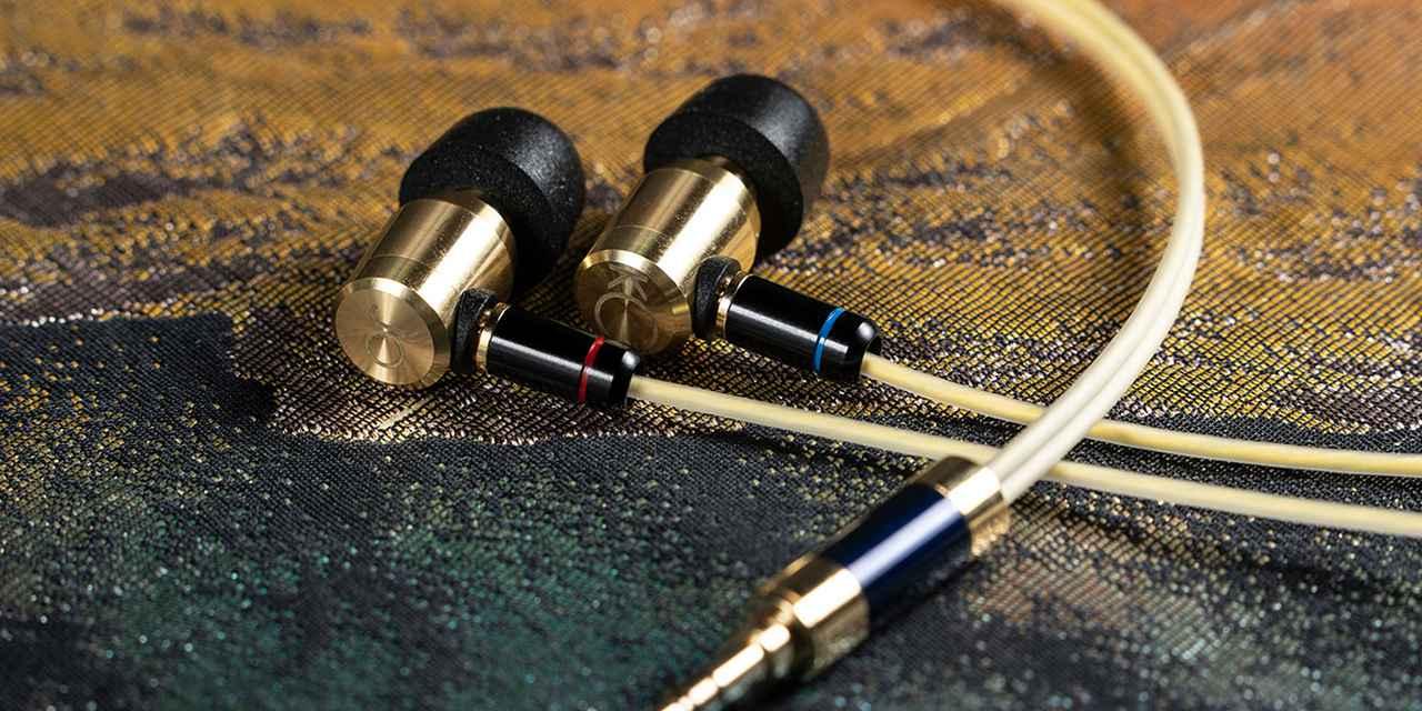 画像: 真鍮製イヤホン Keyagu KJB-01|オーディオ製品・アクセサリー他|製品情報|株式会社光城精工 KOJO TECHNOLOGY