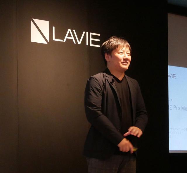 画像: 製品説明を行なった同社シニアエバンジェリスト 森部浩至氏