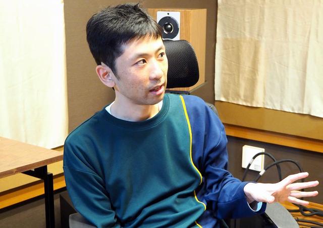画像: 橋爪徹。Beagle Kickでプロデューサーも務める。今回の取材は彼のスタジオ「Studio 0.x」で行なった