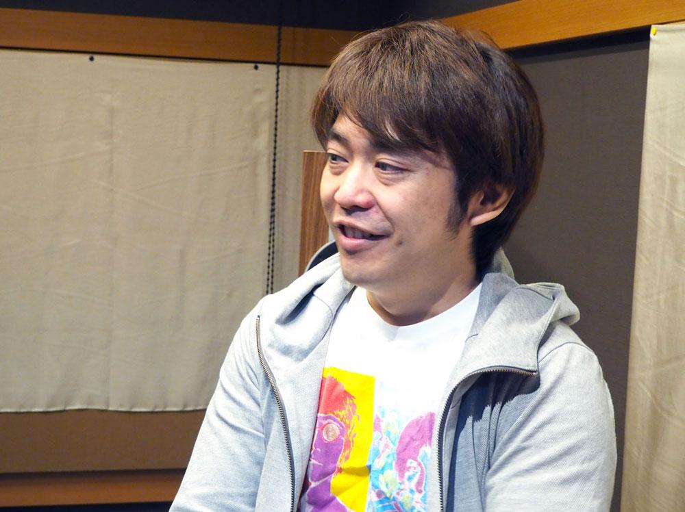 画像: 和田貴史。作曲やエンジニアリングを担当。Beagle Kickのミュージシャンはほとんどが彼の仕事仲間でもある