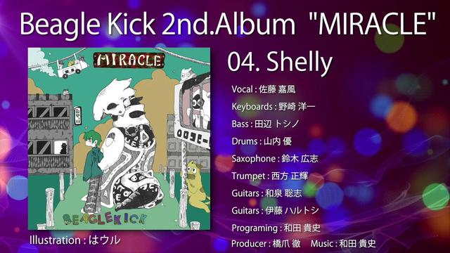 "画像: Beagle Kick 2nd.Album ""MIRACLE"" フル試聴 www.youtube.com"