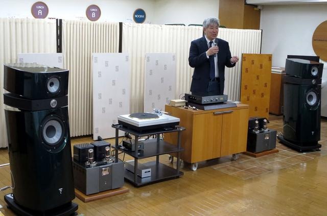 画像: ▲ハイエンド・カートリッジと管球式アンプによる高音質レコード再生を実感していただいた