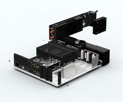 画像: 機能ごとにモジュール化されており、必要なモジュールを組み込めばその機能が使えるようになる