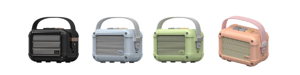 画像: Divoomから、レトロデザインのBluetoothスピーカー「Macchiato」が5月24日に発売。2台使えばステレオ再生も楽しめる。FMラジオも内蔵