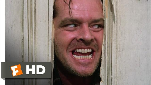 画像: The Shining (1980) - Here's Johnny! Scene (7/7) | Movieclips www.youtube.com