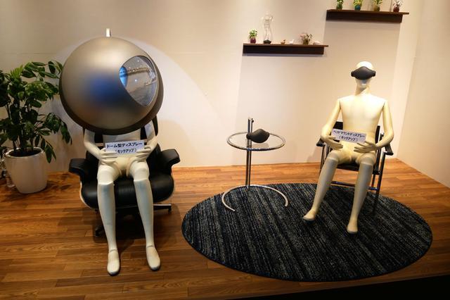 画像: ▲将来のダイバースビジョンを実現する各種映像表示機器のイメージ