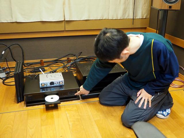 画像: CDメディアの再生はオッポのディスクプレーヤー「BDP-103DJP」にて